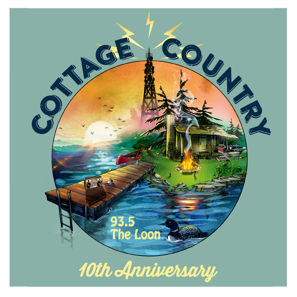 Cottage Country Mix 10th Anniversary Logo