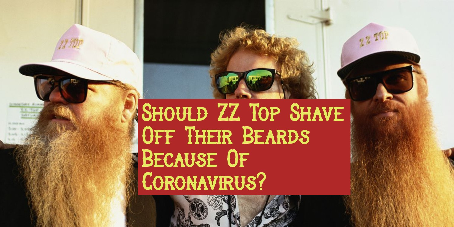 Banner shows ZZ top with the article box title covering the non bearded member's lower face